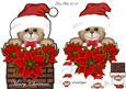 Christmas Teddy Card Mini Kit