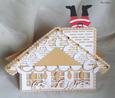 Christmas Santa House Card MTC
