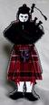 Scottish Piper Card SVG