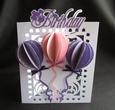 Birthday Balloon Card Cricut