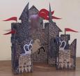 Concertina Gatefold Boys Castle Card Cricut