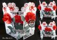Best Wishes Rose Front Door Card SCAL