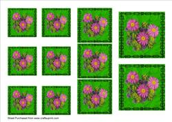 Pink Daisies Toppers