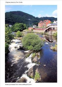 River Dee Llangollen North Wales