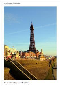 Blackpool Tower Lancashire England