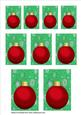 Red Bauble Toppers