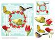 Tulips 8 x 8 Card