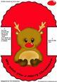 Wobbly Reindeer Card