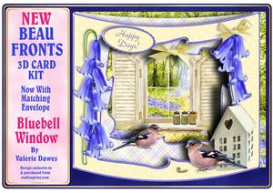 New Beau Fronts Card Kit - Bluebell Window