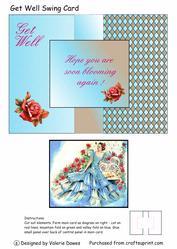 Get Well Swing Card