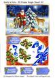 Santa's Pets - 3D Frame Single Sheet Kit
