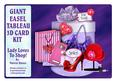 Giant Easel Tableau 3D Card Kit - Lady Loves to Shop