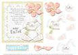 Easter Bunny and Verse Square Card Front