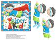 ! Super Kid Card Front / Topper Various Occasions