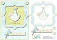 A New Baby Boy Congratulations Card Front