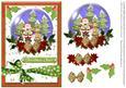 Christmas Cheer Snowglobe Santa and Reindeer