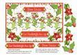 Dear Santa Our Stockings Are Up Quick Card Front