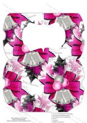 Christmas Hot Pink Decorations Pillow Box