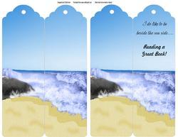 Beside the Seaside Bookmark