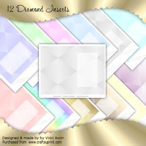 Diamond Pastel Inserts