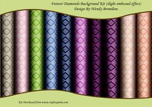 Forever Diamonds Backgrounds Kit