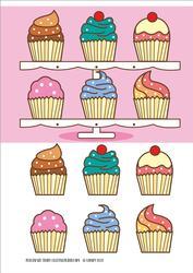 Cupcake Stand Ladies Birthday Celebrate