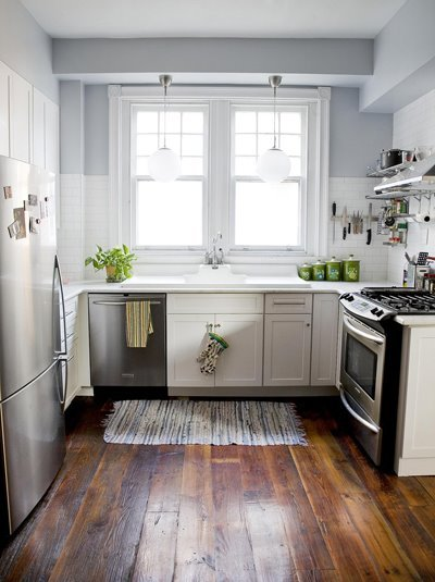 Monday morning jolt--get a load of this kitchen Before and After performed