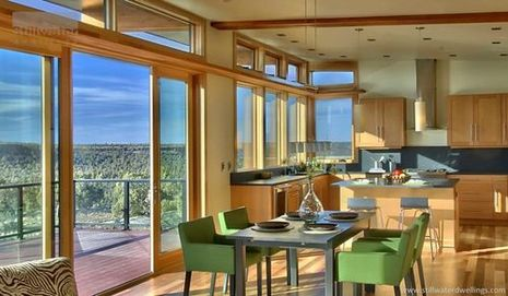 A Beautiful Bend Oregon Green Prefab3