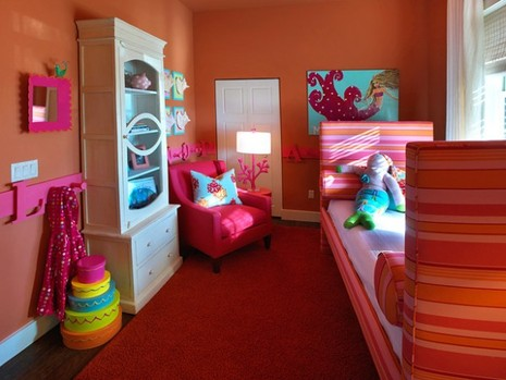 kids bold room e1280112891699 Simple Decor Ideas for Children's Rooms