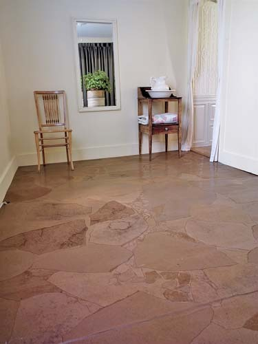 Brown Paper Bag Floor Covering http://shelterhub.com/Articles/560/Budget-Flooring-Brown-Paper-Bags