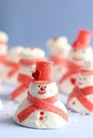 Decorative Snowmen from your Holiday Pantry