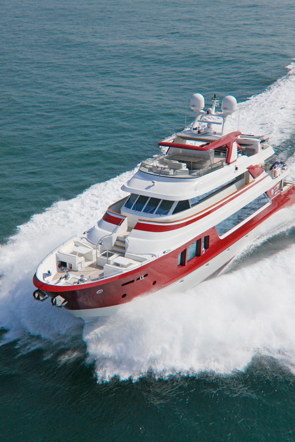a 018 A More Dynamic Form of Design: Red Pearl by MCP Yachts