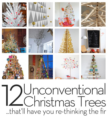 Roundup 12 Unconventional Christmas Trees That Will Have