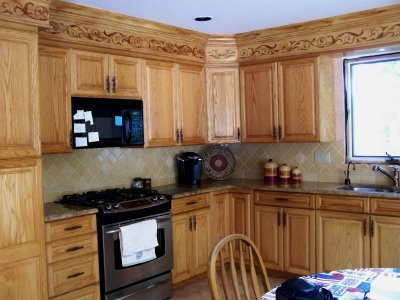 Five Interesting Kitchen Soffit Makeovers Lacy Cutter S Blog