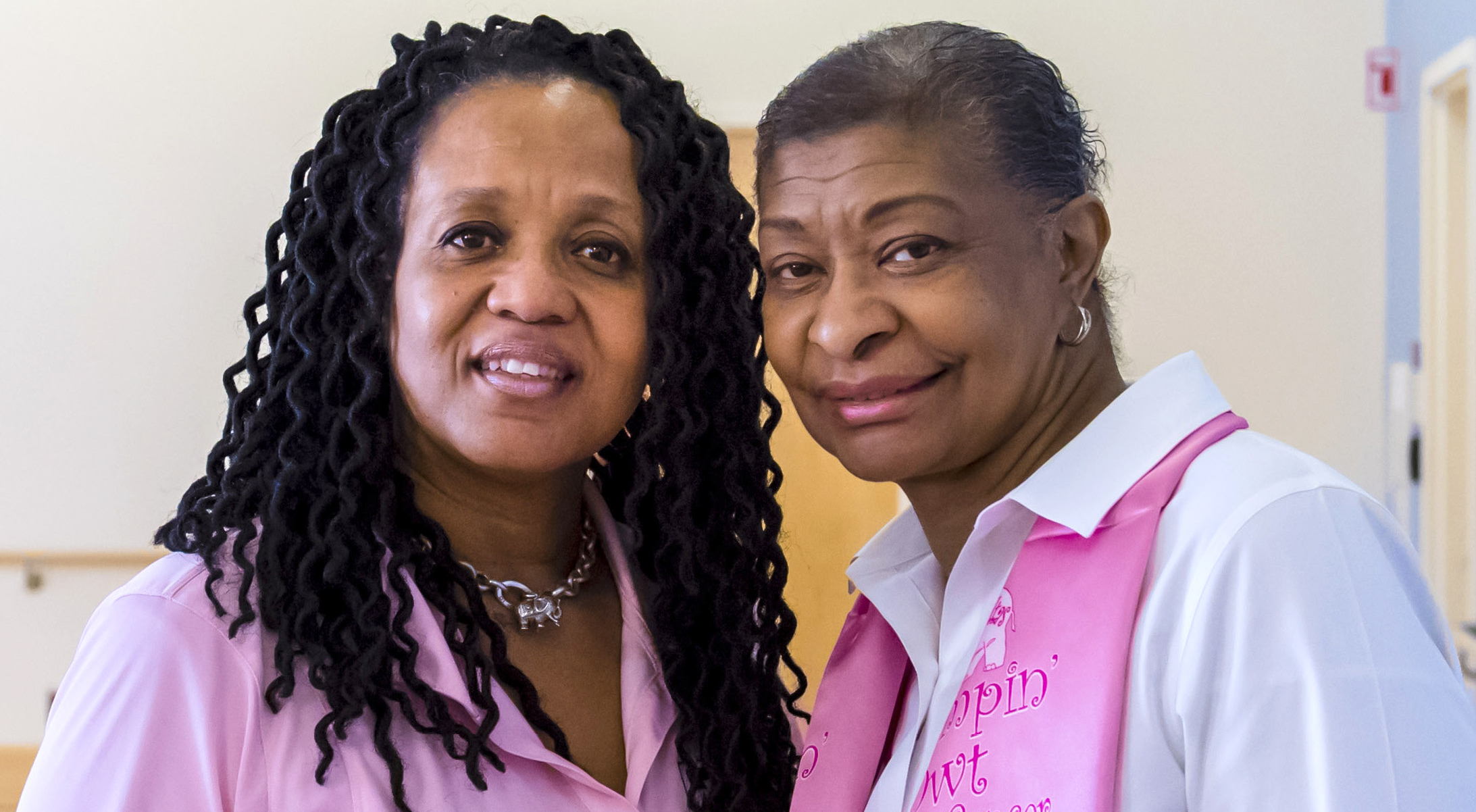 From left: Gloria McBryde Benton, B.S.N., RN, and Keitha V. Johnson