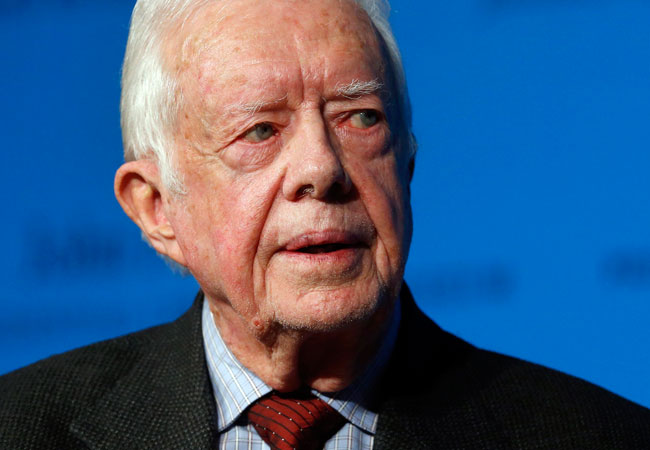 Former U.S. president Jimmy Carter provided an update on his health today in a press conference, announcing that he has melanoma.