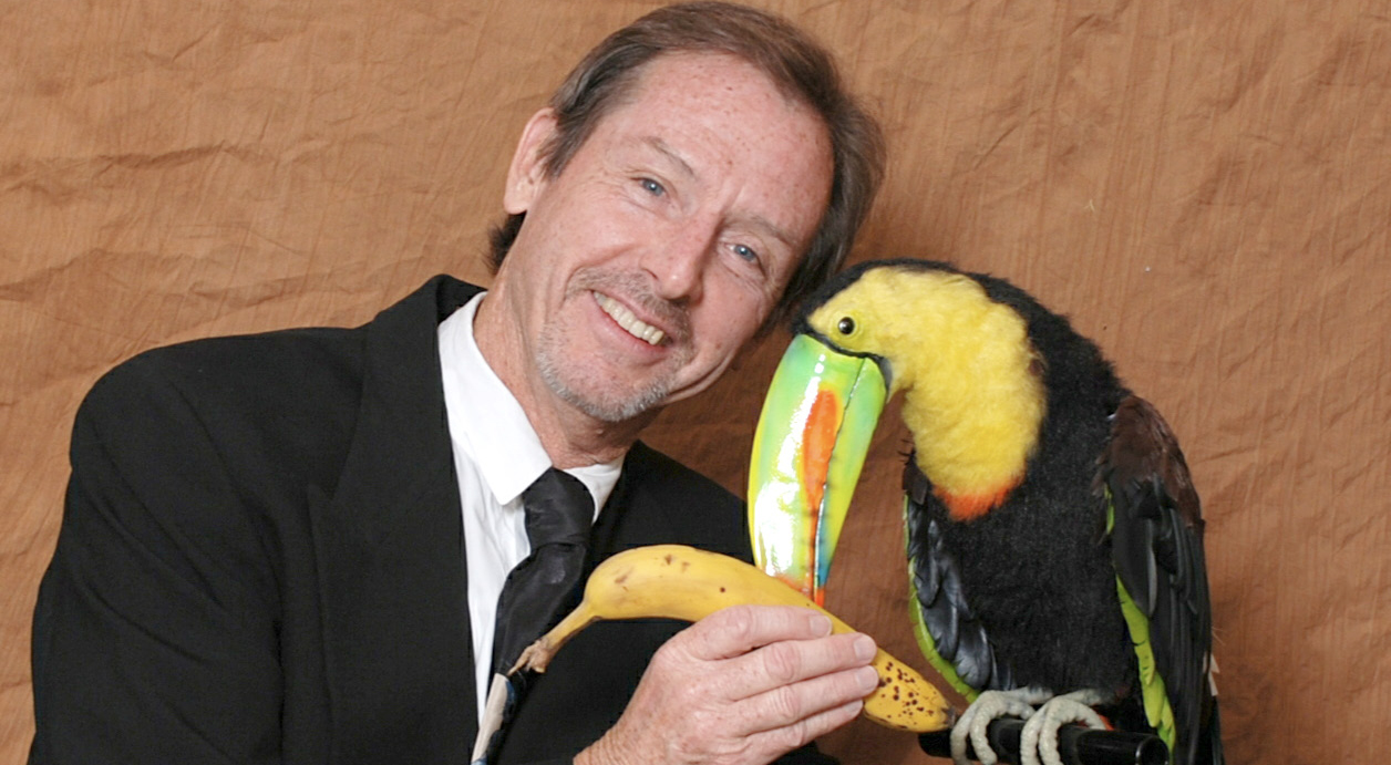KHEVIN BARNES as DR. WILDERNESS interacting with his