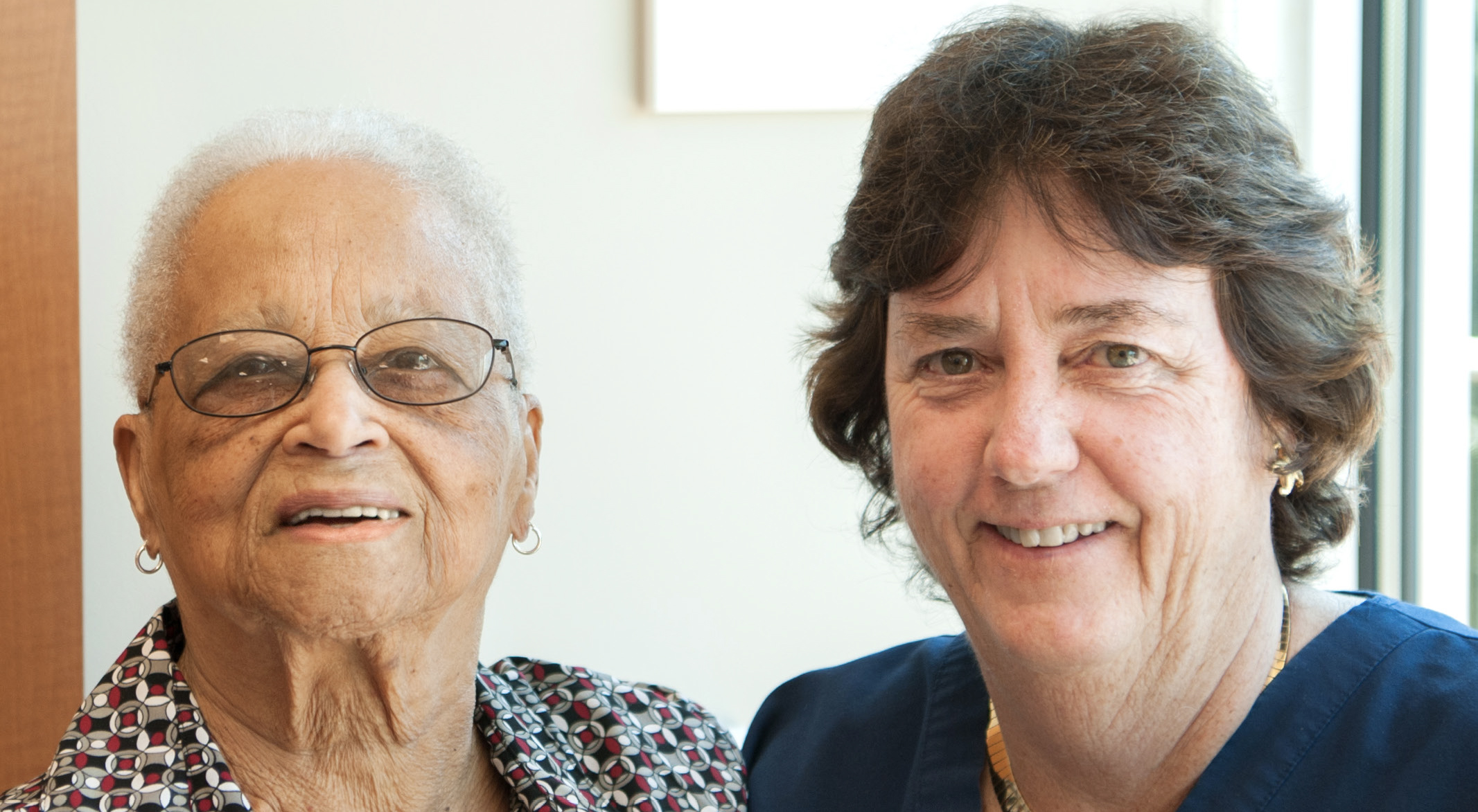 From left: Edith Holder and