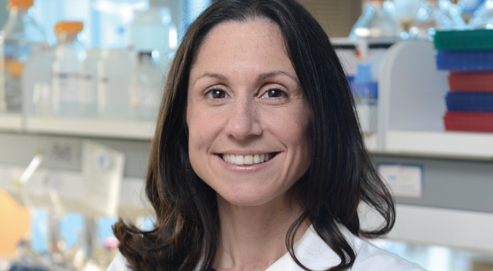 KATHRYN O'DONNELL, Ph.D., uses CRISPR to speed up research into how lung cancer develops and grows. - O'DONNELL: COURTESY UT SOUTHWESTERN