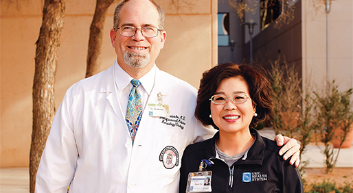 Fred Hardwicke, M.D., and