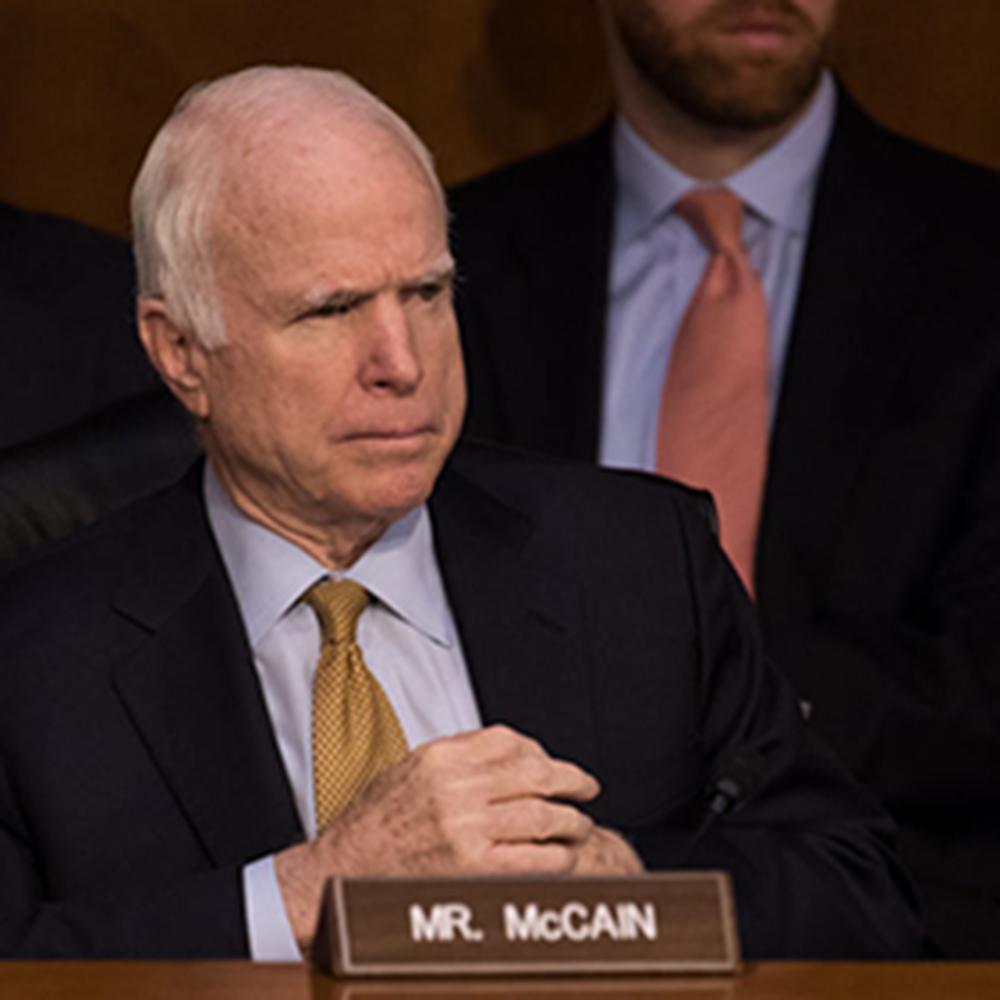 Senator John McCain Diagnosed With Glioblastoma