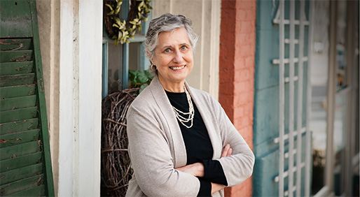 Like many diagnosed with ovarian cancer, RITA FERGUSON did not have obvious symptoms. <br> PHOTO BY: HOLLY BURKHOLDER