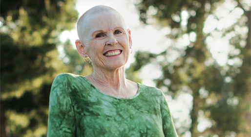 SANDRA SPIVEY has been living with metastatic breast cancer for nearly 20 years, and tries