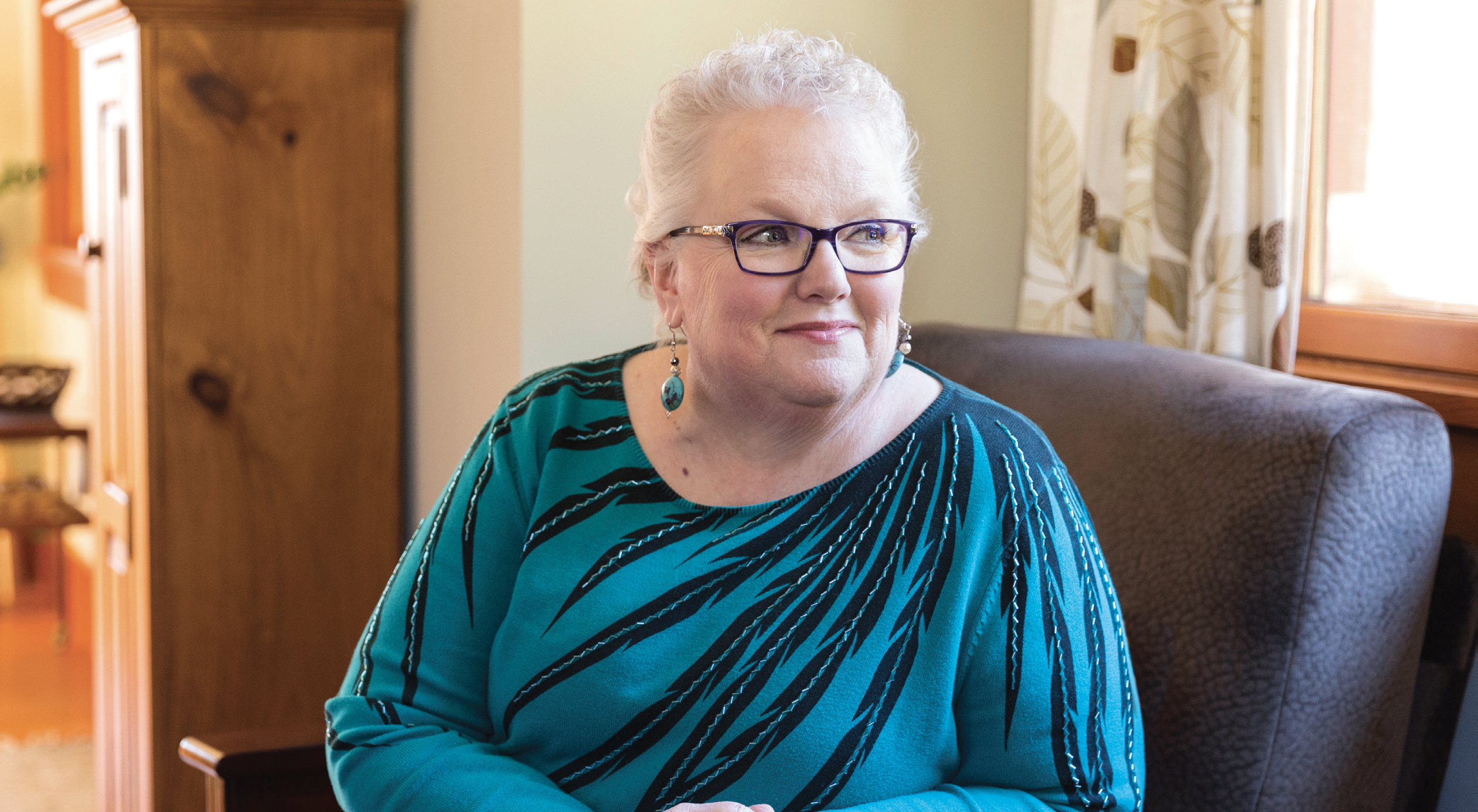 SUSAN BALDRIDGE has no evidence of disease, but still experiences side effects of chemotherapy. - PHOTO BY TAMZIN SMITH