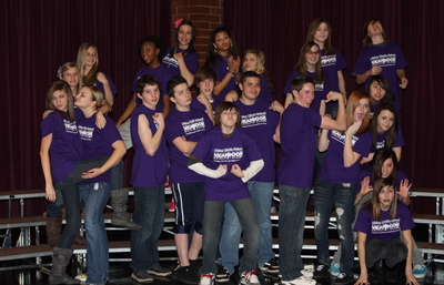 Albion Middle School Yearbook Club T-Shirt Photo