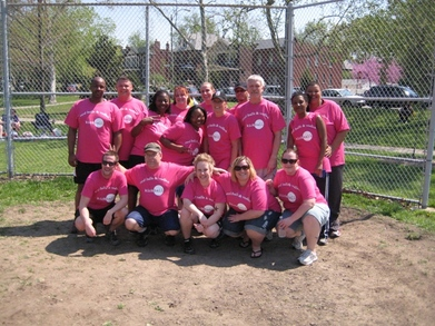 Red Balls And Vodka Team Photo T-Shirt Photo