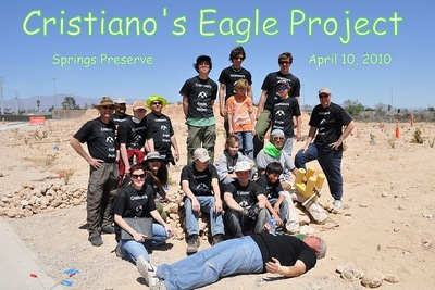 Cristiano's Eagle Project T-Shirt Photo