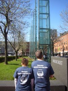 Boston 3 G Holocaust Remembrance Day T-Shirt Photo