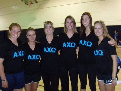 Alpha Chi Omega Spring Sports Champs! T-Shirt Photo