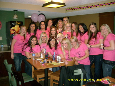 Britt's Bachelorette Babe's T-Shirt Photo